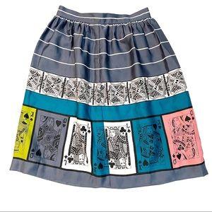 Anthropologie Edme & Esyllte Pinochle Skirt